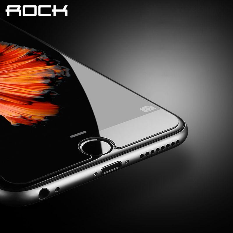 ROCK Gehärtetem Glas Film für iPhone 6/6 s/6 plus/6 s plus Einscheiben-schutzfolie für iPhone 6 s plus