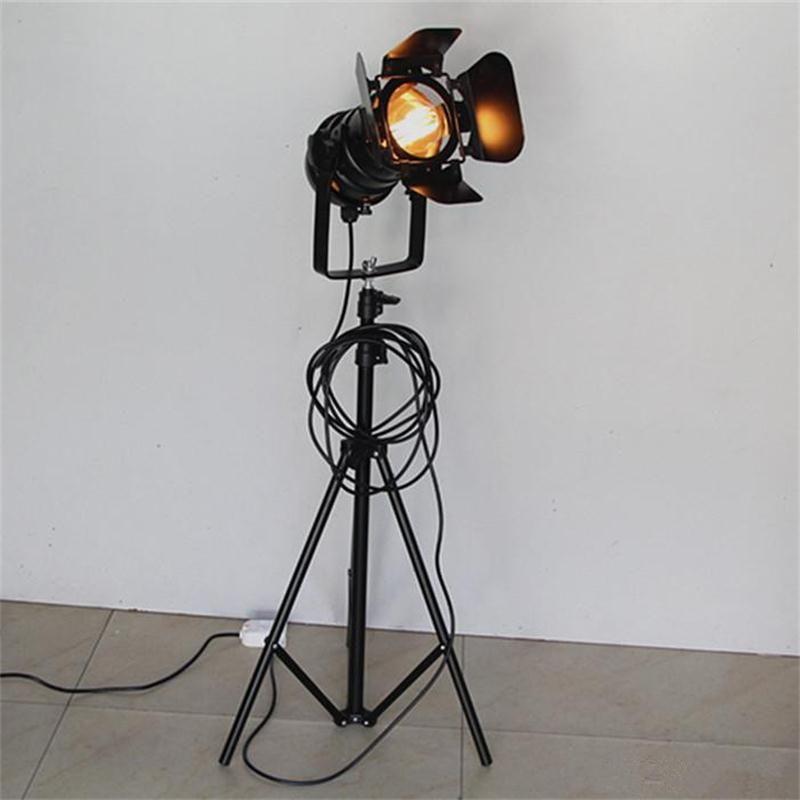 Retro Industriellen Loft Stehlampen Restaurant Coffe Bar Bekleidungsgeschäft Beleuchtung Studio Wohnzimmer Hintergrund LED Spot-Licht