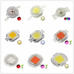 High Power LED Chip 1W 3W 5W 10W 20W 30W 50W 100W COB SMD LED Bead White RGB Grow Full Spectrum 1 3 5 10 20 30 50 100 W Watt