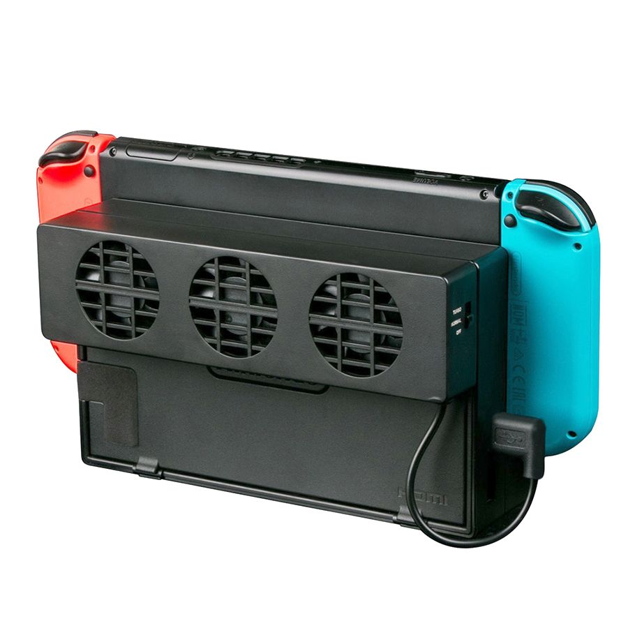 Cooling Fan for Nintendo Switch NS Original Stand Game Console Dock Cooler with 3-Fan USB Cooling Fan for Nintend NS NX