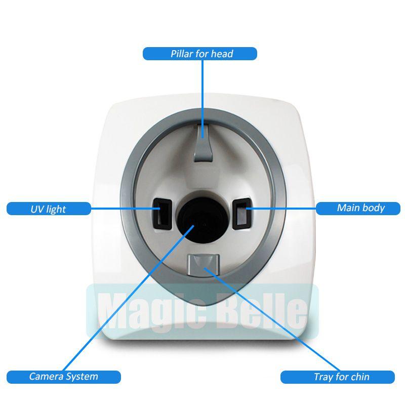 2018 heißer Digital 3D Scanner Hautanalysegerät/Professionellen Hautanalyse für klinik verwendung
