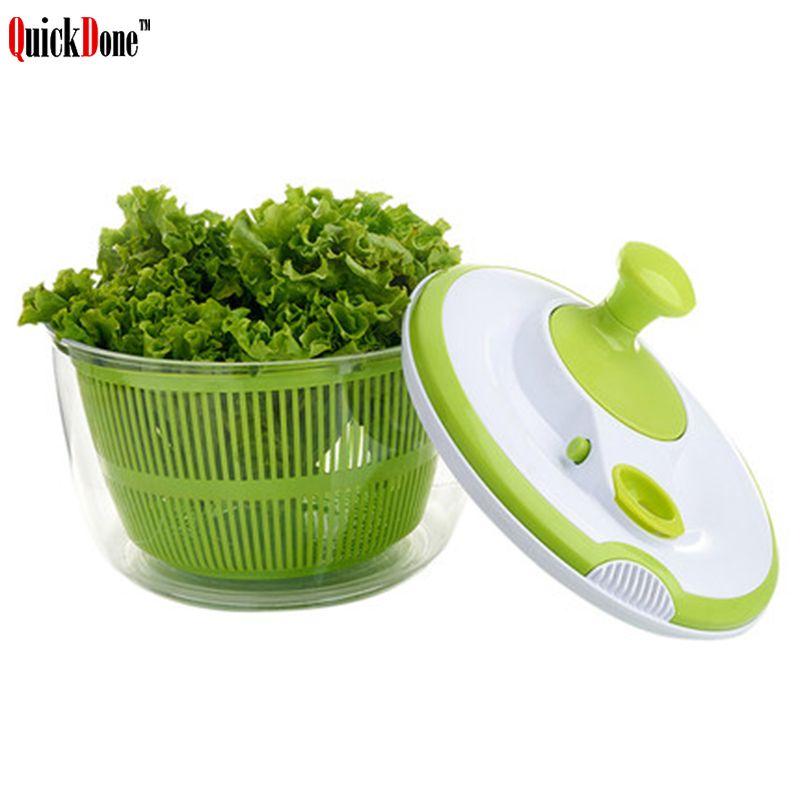 QuickDone Gemüsedörr Trockner Körbe Salat Spinner Sieb Obst Waschen Saubere Lagerung Washer Trocknen Maschinen AKC6199