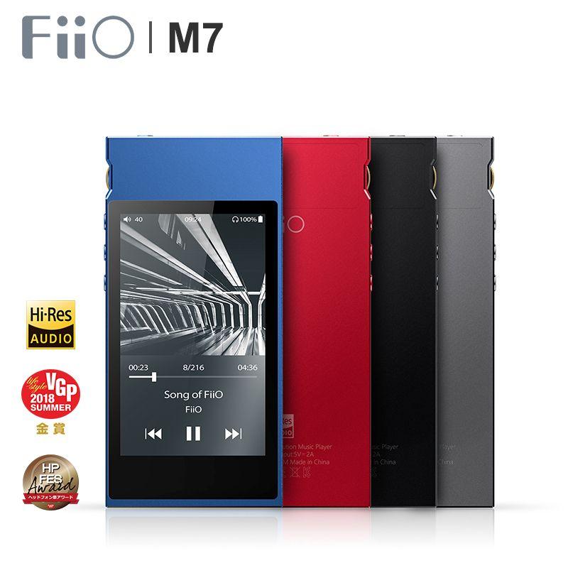 FiiO M7 High-Resolution Lossless Audio Player Bluetooth4.2 aptX-HD LDAC Touch Screen MP3 with FM Radio Support Native DSD