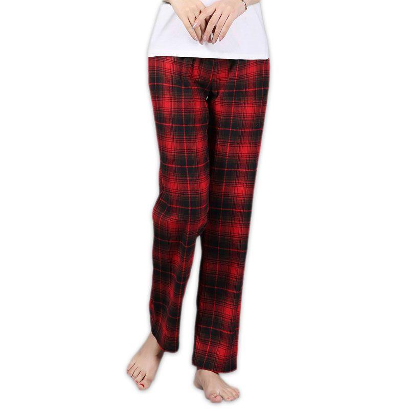 Épaissir 100% coton femmes sommeil bas lâche grande taille nuit pantalon vêtements de nuit bas de pyjama femmes pyjama pantalon coton