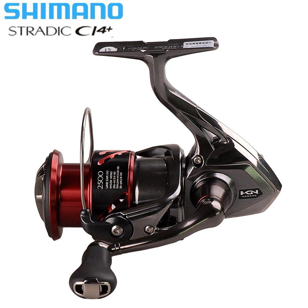 Original SHIMANO STRADIC CI4+ Spinning Fishing Reel FB1000 1000HG 2500HG 3000HG Hagane Gear X-ship Saltwater Carp Fishing Reel