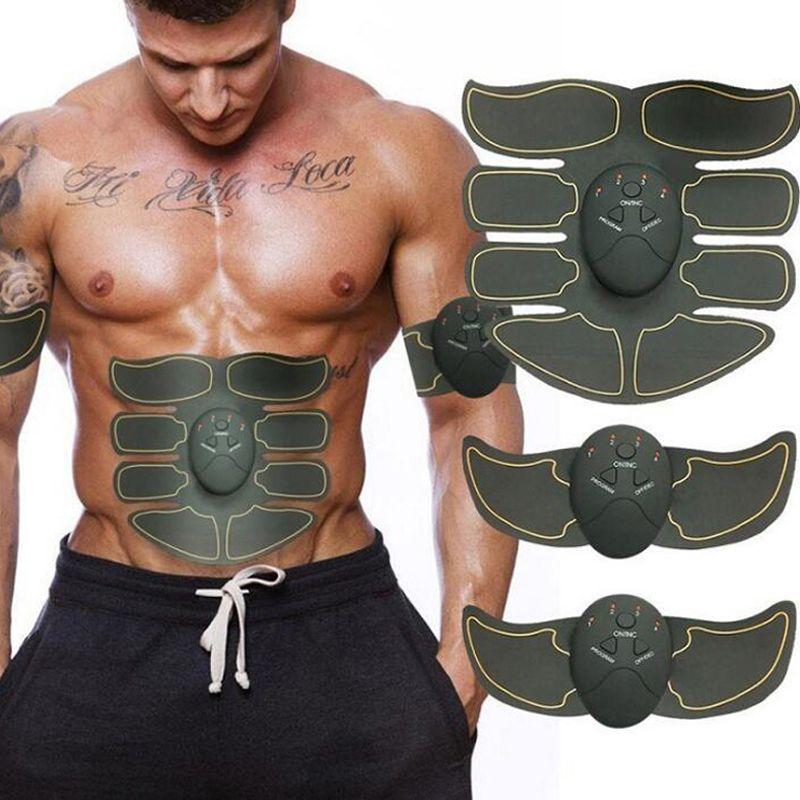Nouveau stimulateur musculaire intelligent EMS abdos tonique musculaire Abdominal corps Fitness mise en forme Patch de Massage amincissant formateur exerceur unisexe