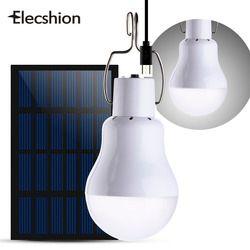 Elecshion iluminación Led al aire libre Solar lámpara de calle Jardín sistema de energía camino energía Solar exterior bombilla potente para el jardín