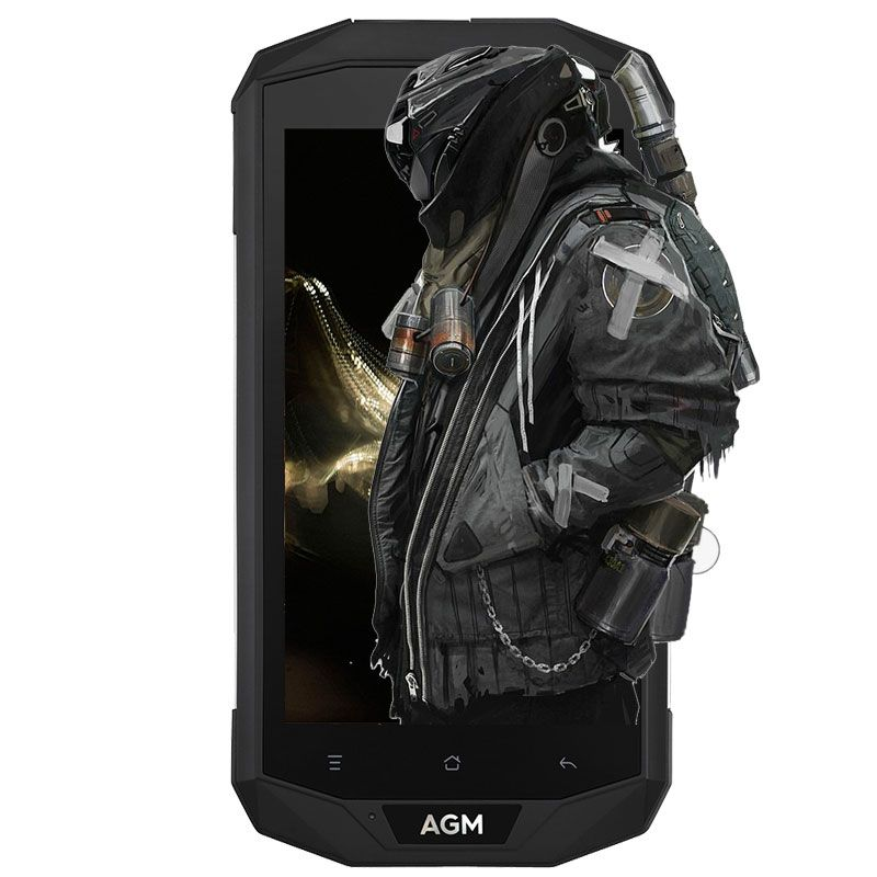 AGM A8 4G IP68 Waterproof Smartphone Android 7.0 5.0 inch MSM8916 Quad Core 1.2GHz 3GB RAM 32GB ROM 13.0MP 4050mAh Battery Phone