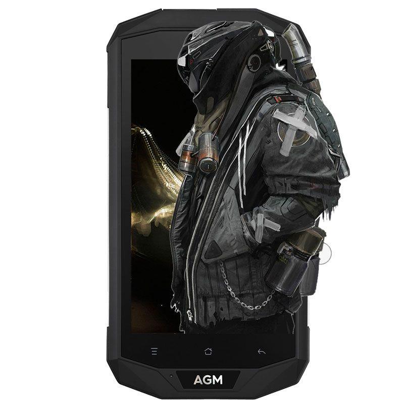 AGM A8 4G <font><b>IP68</b></font> Waterproof Smartphone Android 7.0 3GB RAM 32GB ROM MSM8916 Quad Core 1.2GHz 13.0MP 4050mAh Battery 5.0 inch Phone