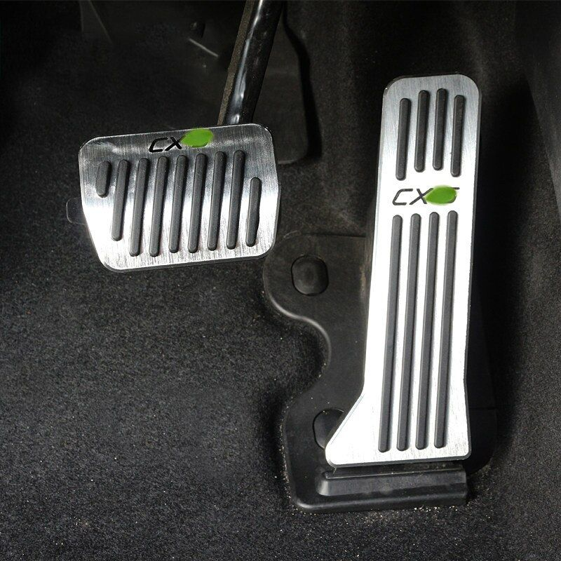 Aluminum alloy Car Accelerator Gas Pedals Brake Pedal Cover AT For Mazda CX-5 CX5 CX 5 2012 2013 2014 2015 2016 2017 Car-Styling