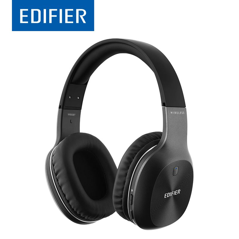 EDIFIER W800BT Bluetooth Headphone Wireless Over-Ear Noise <font><b>Isolation</b></font> HIFI stereo Bluetooth 4.0 Headset With Mic For Phone Tablet