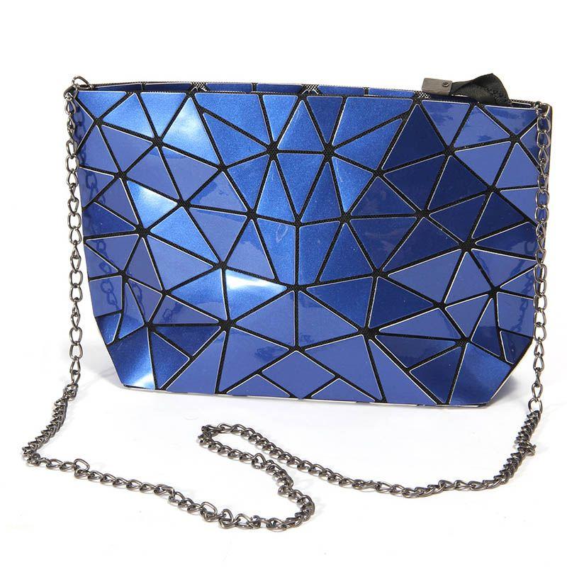 2017 Famous Brand Bao Bao Women Bag High quality Geometric Handbags Plaid Chain Shoulder Crossbody bags Laser BaoBao Diamond Bag