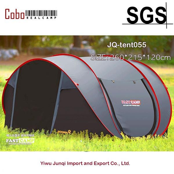 Fastcamp Mega for 5persons-Instant Popup tent One touch pop up fishing camping outdoor Family Tent