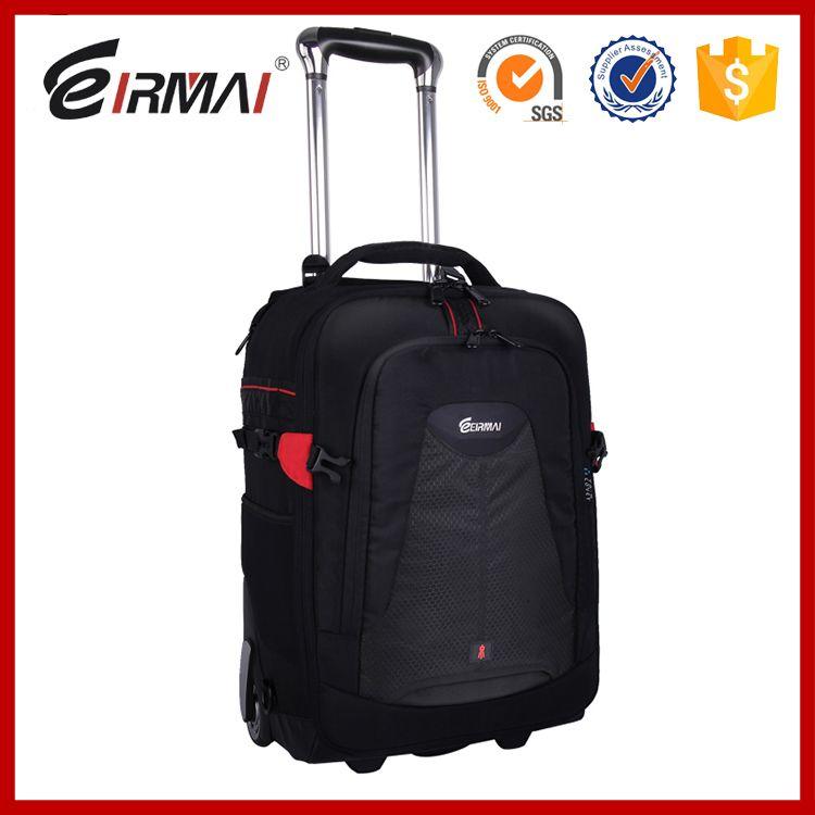 hot sale Trolley camera bags DSLR waterproof backpack multifunction camera bags EIRMAI Large space Trolley