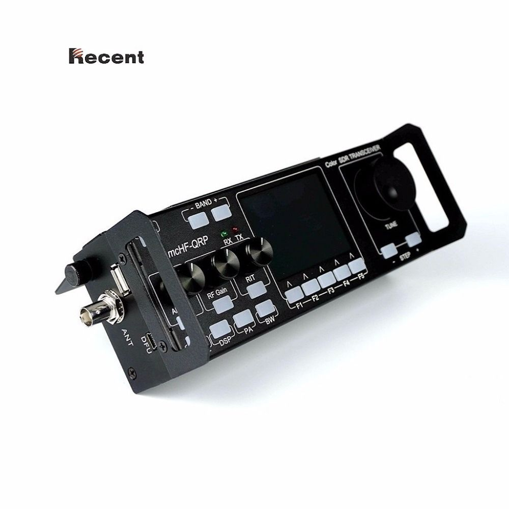 Recent RS-918 SSB HF SDR Transceiver 15W Transmit Power Mobile Radio RX:0.5-30MHz TX:All ham Bands Multifunctional Instrument