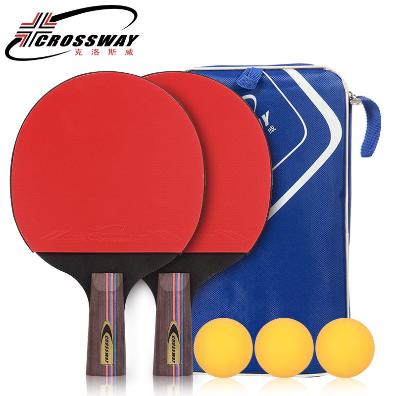 Table Tennis Racket 2Pc/lot Upgraded Carbon Table Tennis Racket Set Lightweight Powerful Ping Pong Paddle Bat with Good Contrl
