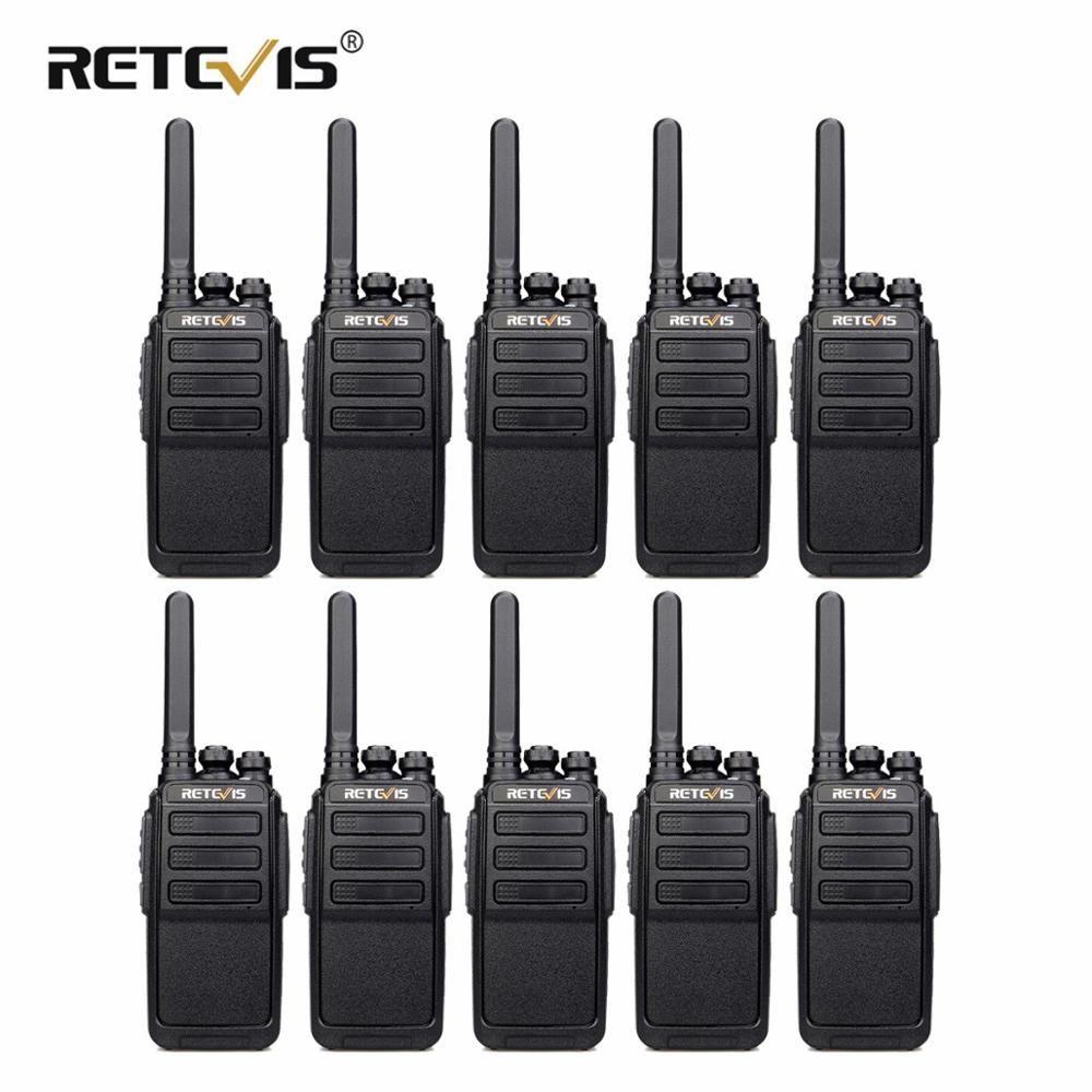 10 ps RETEVIS RT28 Tragbare Walkie Talkie VOX Hände-freies CTCSS/DCS USB Lade UHF Frequenz Tragbare 2 weg Radio Comunicador
