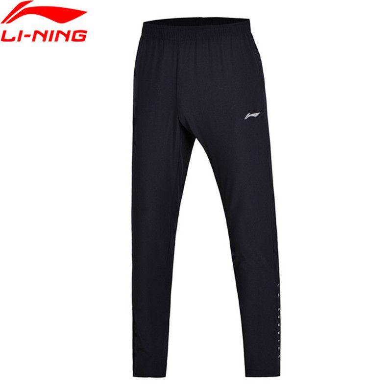 Li Ning 2018 Männer Jogger Trainingshose Slim Fit Stretch Stoff Li Ning Komfortable Frauen Sporthose AYKN011