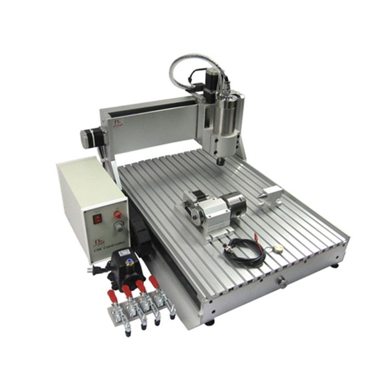 4axis USB port cnc router 1000*600mm working size engraving machine