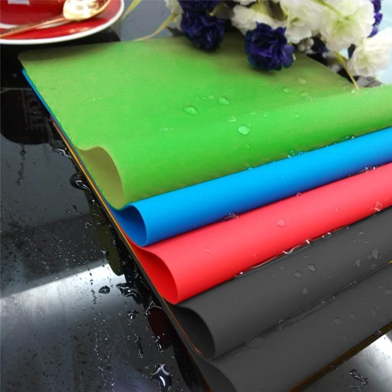 40*30 cm Silikon Backen Matten Ofen Liner Matte Wärmedämmung Pad Backformen Geschirr Matten Nicht-stick Kochen werkzeuge