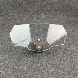 Airflow Adjustable Windscreen Wind Deflector Universal Motorcycle Windshield for Kawasaki BMW Ducati honda KTM