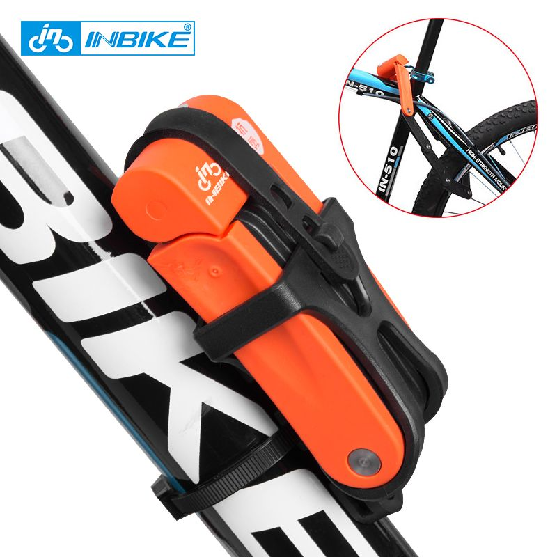 INBIKE Anti theft Bicycle Lock Anti-shear of 12 ton <font><b>Hydraulic</b></font> Cutter Bike Lock Motorcycle Lock Electric Bicycle Part Chain Lock