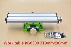 Multifunción Mini Mesa de Banco vise Banco taladro fresadora stent BG6300 1 unids