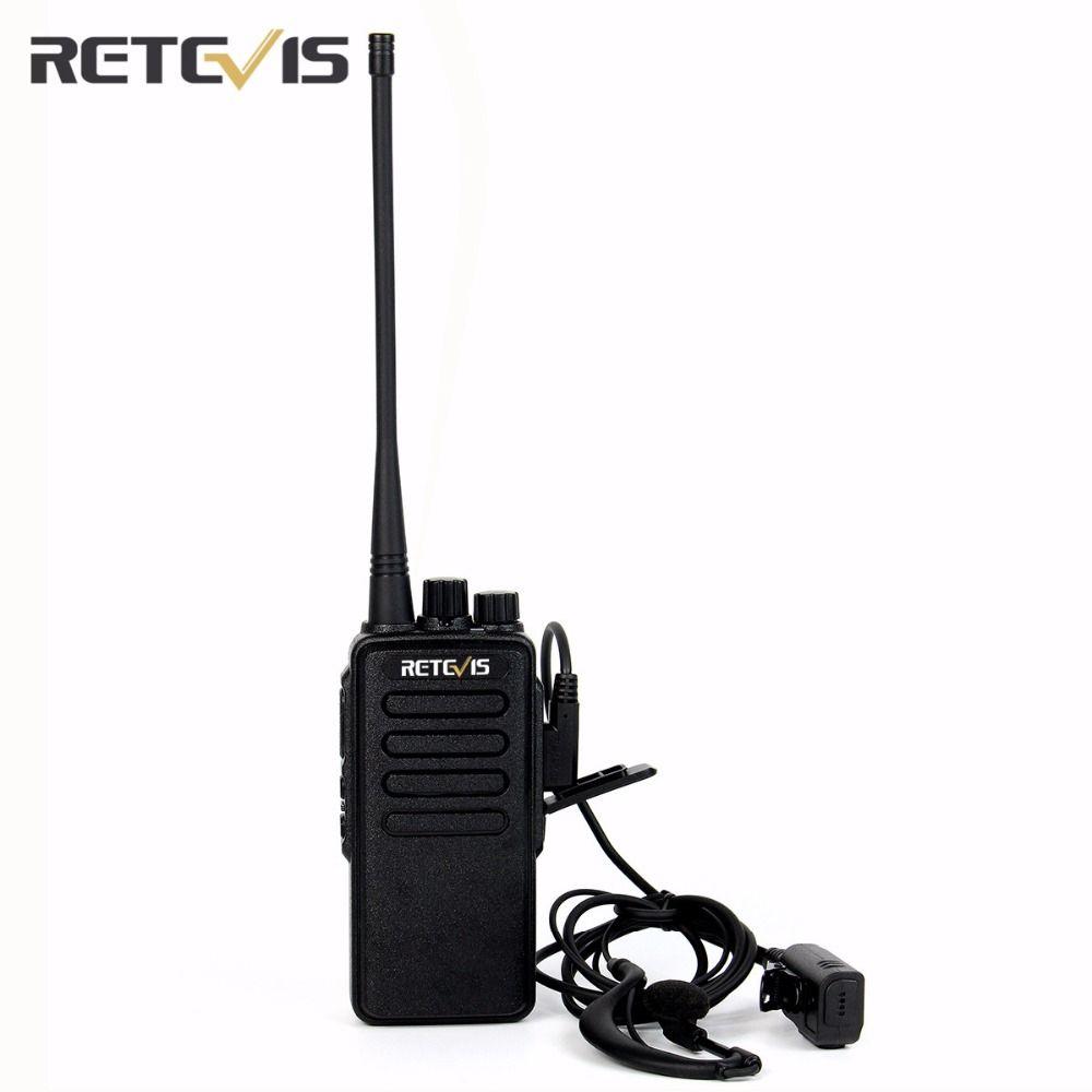 Walkie Talkie Retevis RT1 10W VHF136-174MHz Frequency Portable Radio Set 1750Hz Scan VOX Scrambler 1750Hz Two Way Radio A9106AV