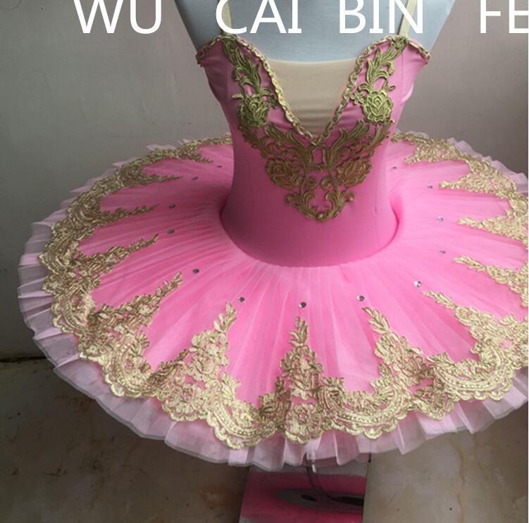 Woman Professional Ballet Tutu Dance Costume Pancake Girls Gymnastic Dancing Dress Ballet Leotards For Women Ballerina