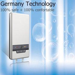 7500 W eléctrico sin tanque calentador de agua Instantáneo Para el hogar Baño ducha cocina grifo del fregadero agua caliente instantánea fuente