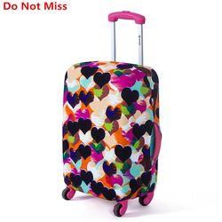 لا تفوت السفر الأمتعة حقيبة واقية غطاء حقيبة الغبار يغطي مربع مجموعات السفر تنطبق 18 إلى 30 بوصة الحالات