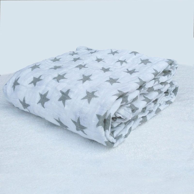 Adena anais mousseline bébé couvertures literie infantile coton Swaddle serviette enveloppes multifonctions pour les nouveau-nés recevant des couvertures