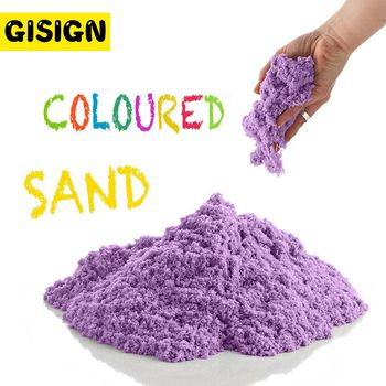 Dynamic Sand Toy Clay Educational Colored Soft Magic Sand Space Indoor Arena Play Sand Kids Toys for Children