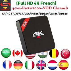 Meilleur 4 k HD Français IPTV tvbox H96 RK3229 SINOTV app pour Arabe Europe Amérique Latine Moyen-Orient Canada ROYAUME-UNI la turquie IP TV Canaux