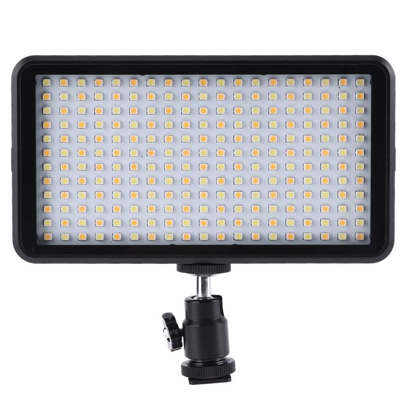 228LED Video Camera Light W228 2000LM LED Dimmable Ultra Bright Panel Digital Camera Camcorder Light