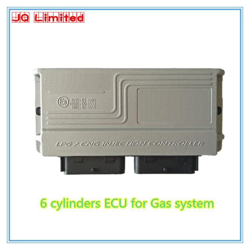 6 cylinder BC300 GAS System ECU for LPG CNG concersion kit for car version 11.2/3