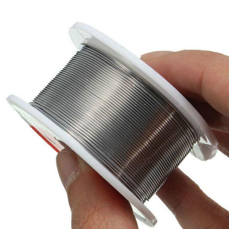 Hot Sale 0.6mm 60% Sn spec 1.2% Flux New Tin Lead Tin Wire Melt Rosin Core Solder Soldering Wire Roll
