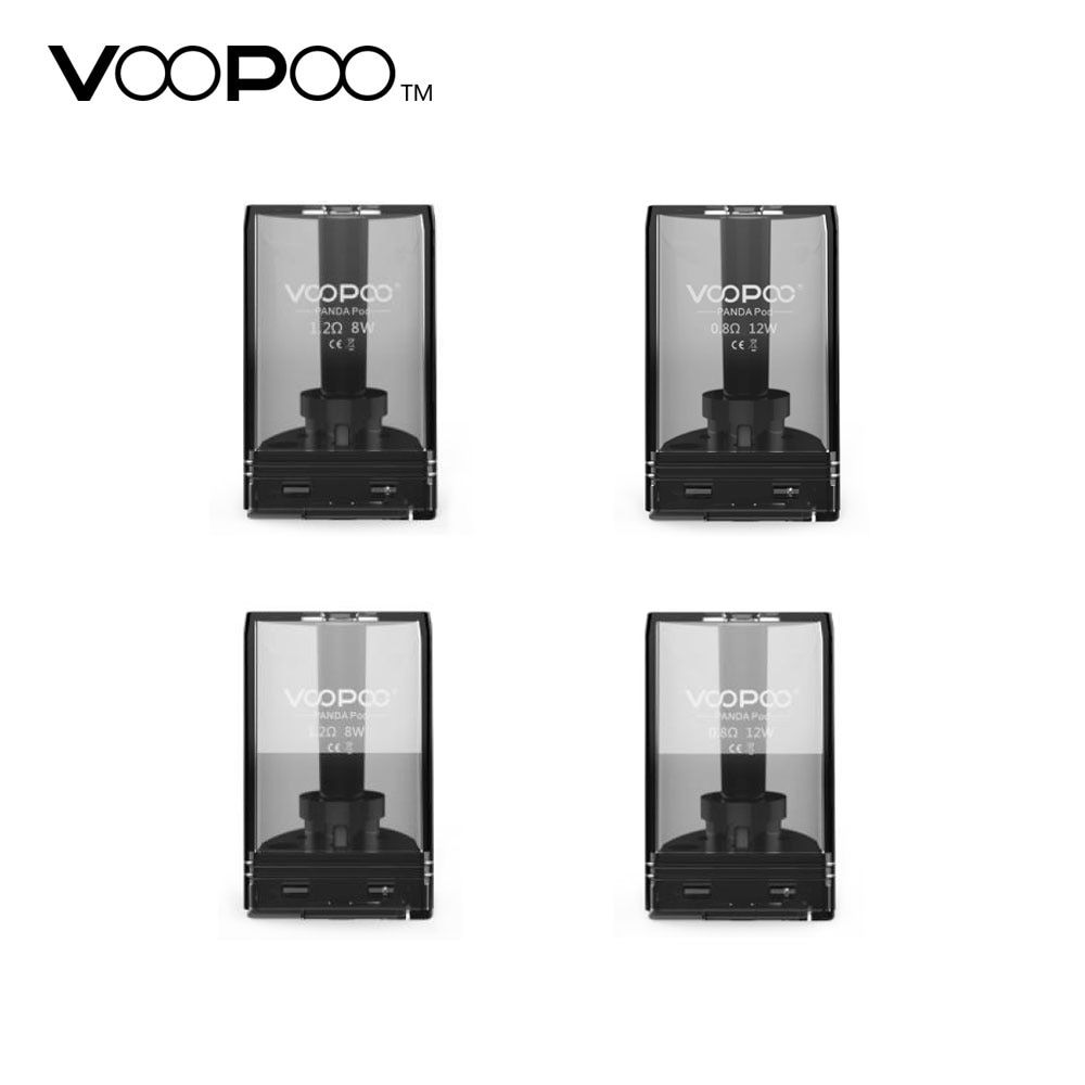 New Original VOOPOO Panda Pod Cartridge 5ml with 1.2ohm/0.8ohm Coil Resistance Designed for Voopoo Panda AIO Kit E-cig Vape Part