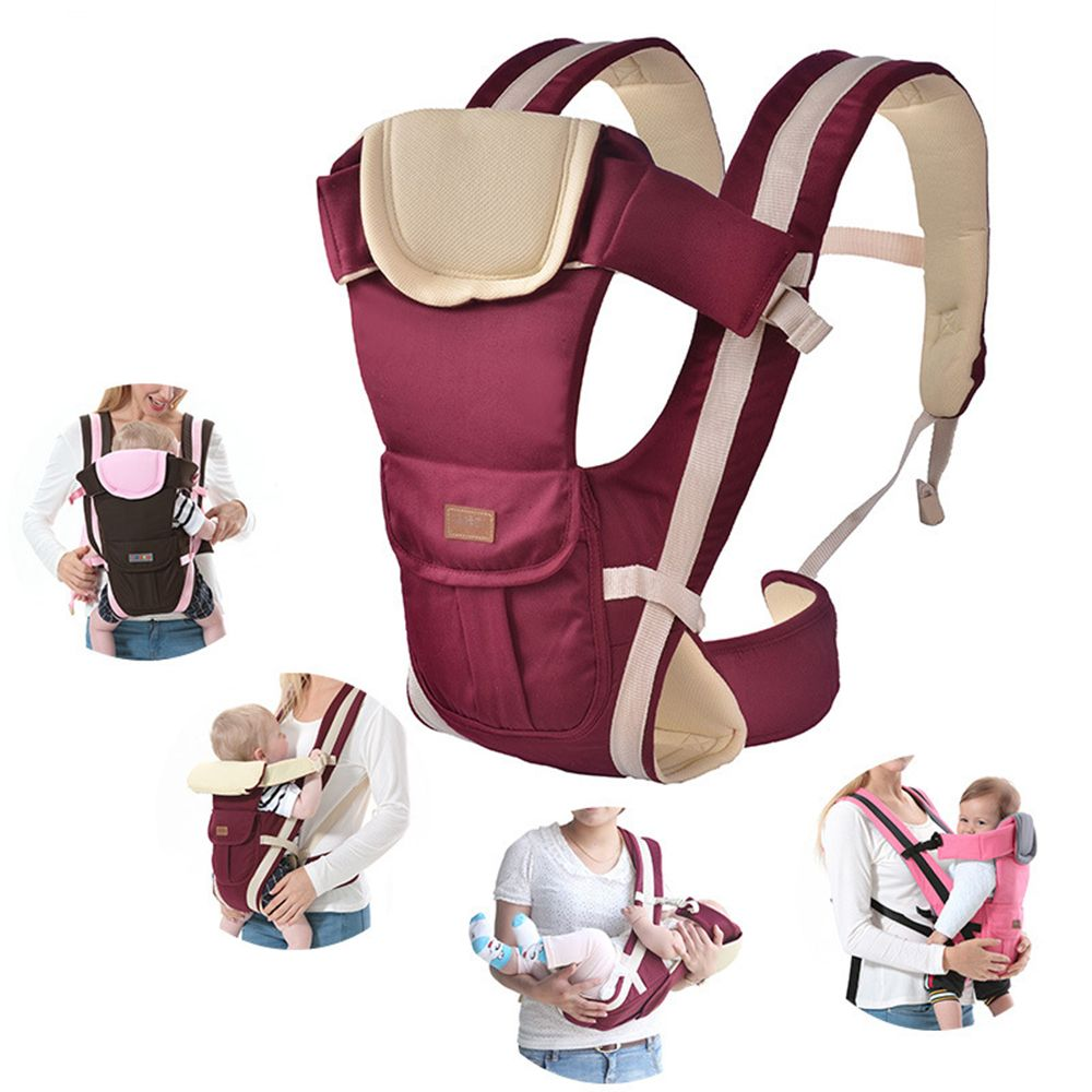 2-30 Months Baby Carrier <font><b>Multifunctional</b></font> Front Facing Baby Carrier Infant Bebe High Quality Sling Backpack Pouch Wrap Kangaroo