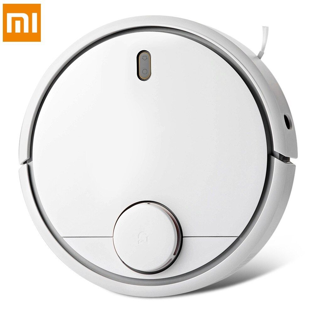 Original Xiaomi Roborock Robot Vacuum Cleaner 1st Generation App Remote Control 5200mAh Li-Ion Battery Wireless Cleaner For Home