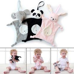 Bébés En Peluche Apaisant Jouets Sécurité Couverture Bébé Jouets Apaisant Serviette pour bébé soins