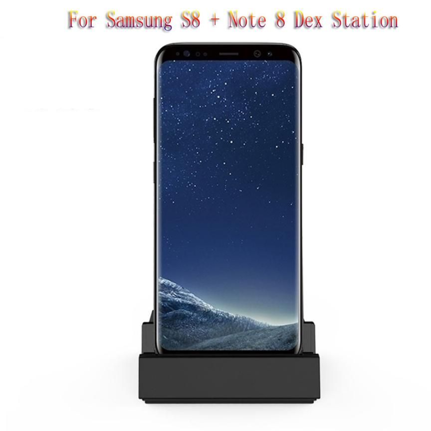 HL 2018 HDMI Dex Station De Bureau Extension De Charge Dock Pour Samsung S8 S8 Plus + Note 8 drop shipping oct25