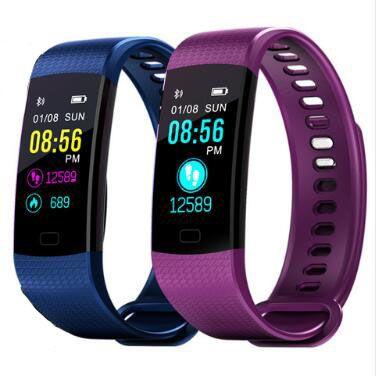 Smart Bracelet Y5 Smart Bracelet Coeur Taux Montre de la pression artérielle Fitness Tracker Smart bande PK xiaomi mi bande 3 PK honor bande 3