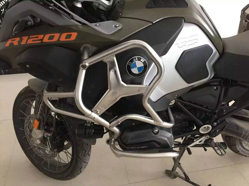 BUMPER UPPER CRASH BAR EXTENSIONS FOR BMW R1200GS ADVENTURE 2014-ON