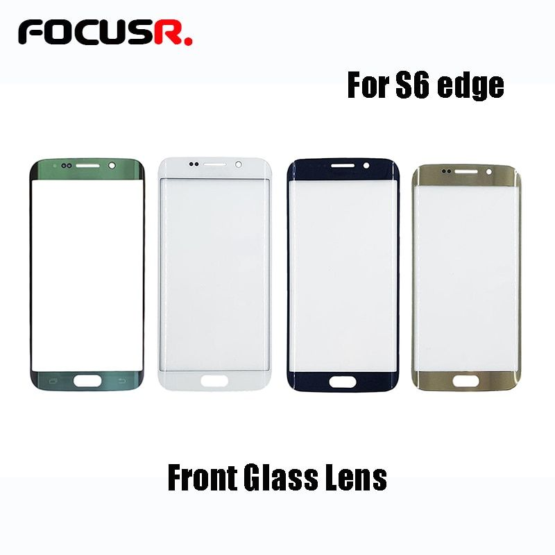 Novecel 1pcs A+ High Quality Front Screen Outer Glass Lens Replacement Part for Samsung Galaxy S6 edge G925F G925A G9250