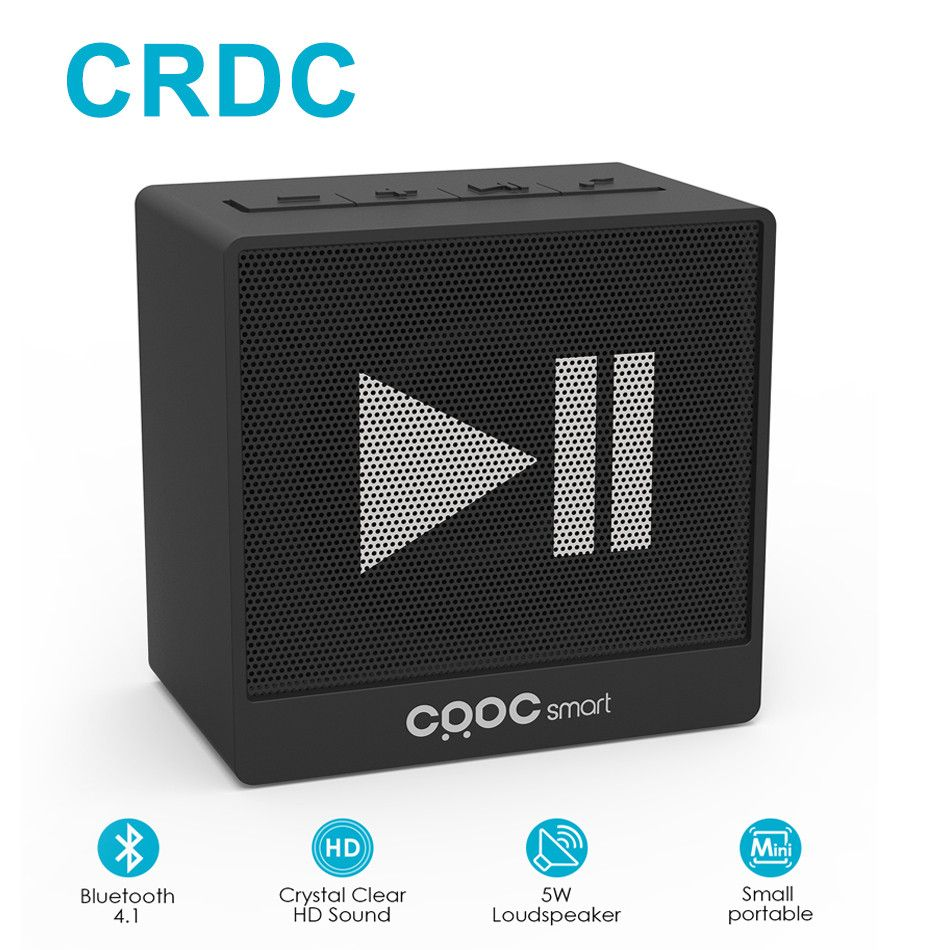 CRDC Mini but 100% Powerful Bluetooth Speaker Portable Wireless Stereo Sound Box Outdoor Handsfree Speaker For Xiaomi iPhone etc