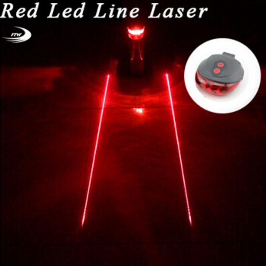Tail light (5LED+2Laser) Cycling Safety warning Bicycle Rear Lamp Bike Laser Tail bike Light Bicicleta Caution TL0218