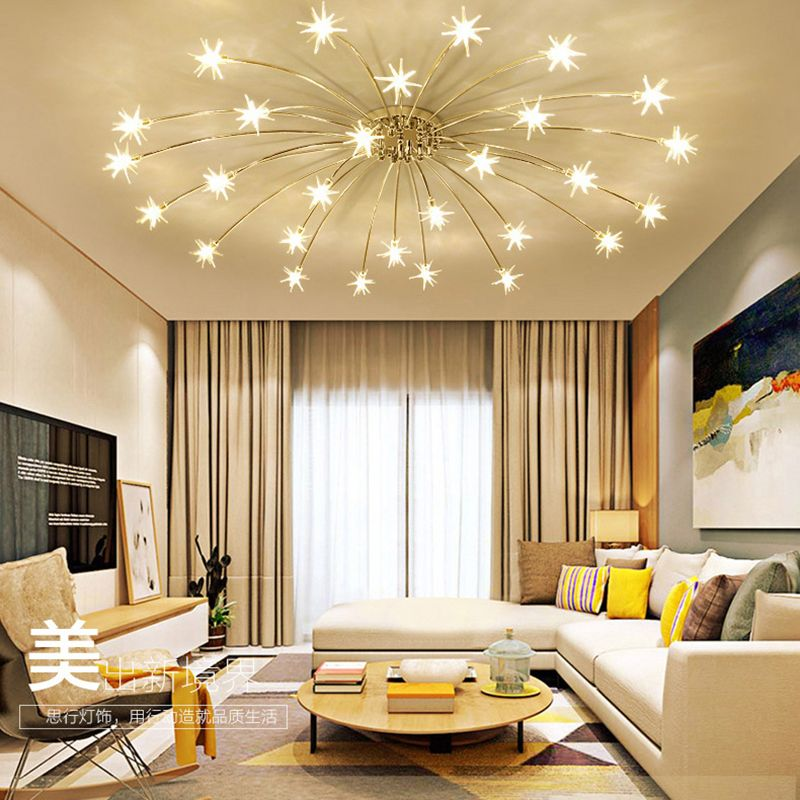 Creative Chandelier Ceiling Bedroom Living Room Modern Lighting Fixture G4 Star Ceiling Fixtures lustre LED For Children Room