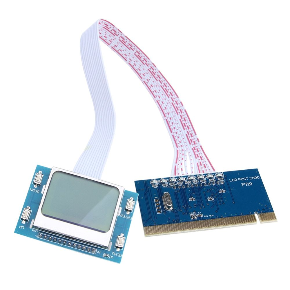 Alta Calidad más nueva PCI Placa Base Tarjeta de Prueba Del Probador Del Analizador De Diagnóstico para PC de Sobremesa Portátil