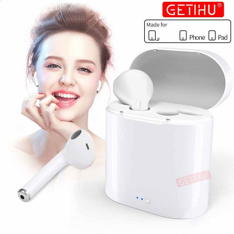 Mini Bluetooth Earphones wireless headphones Air In Ear Earbuds Sport Headset Stereo Earpiece pods For Apple For iPhone XS MAX 6